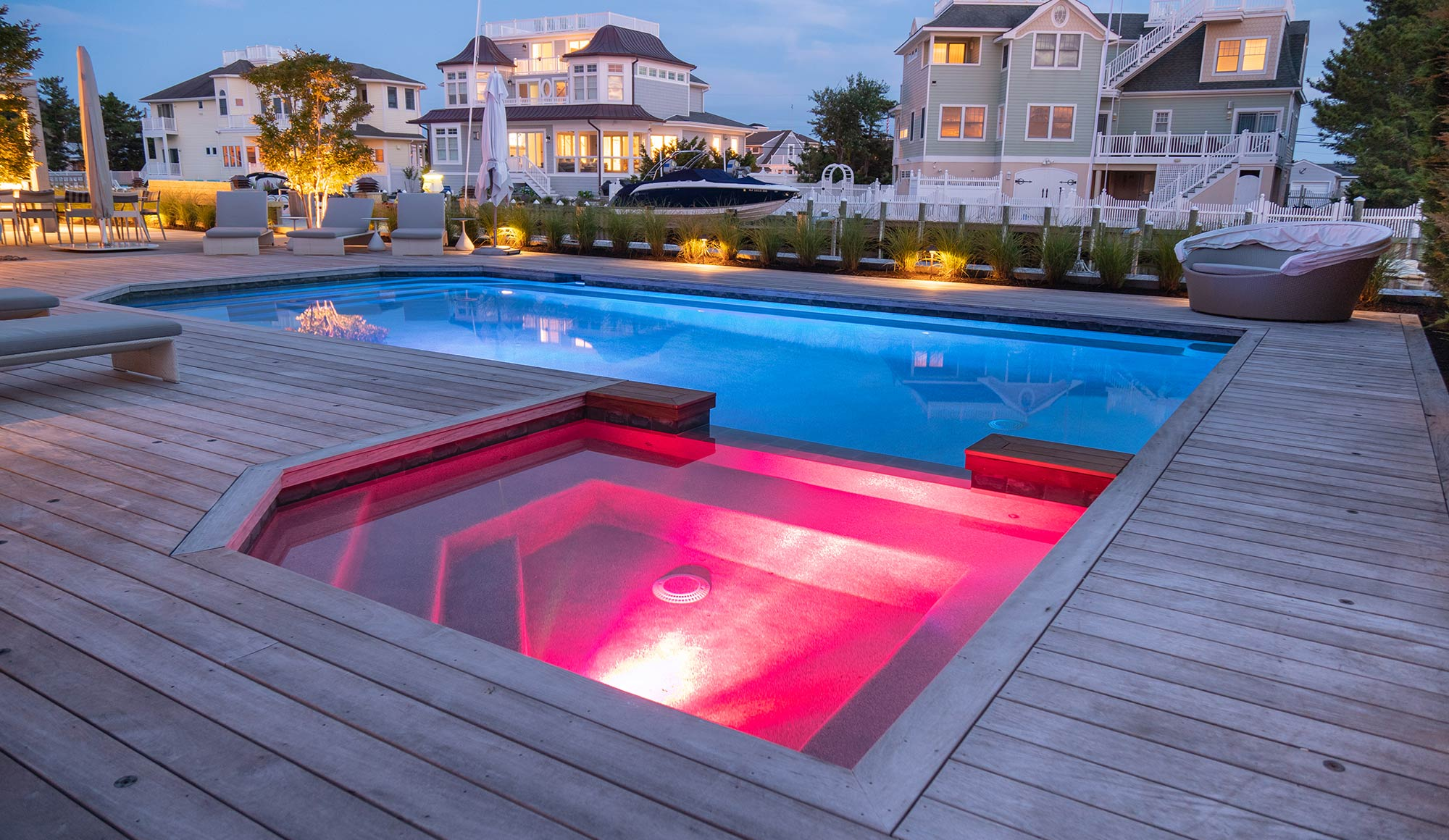 Outdoor Lighting Design in Loveladies