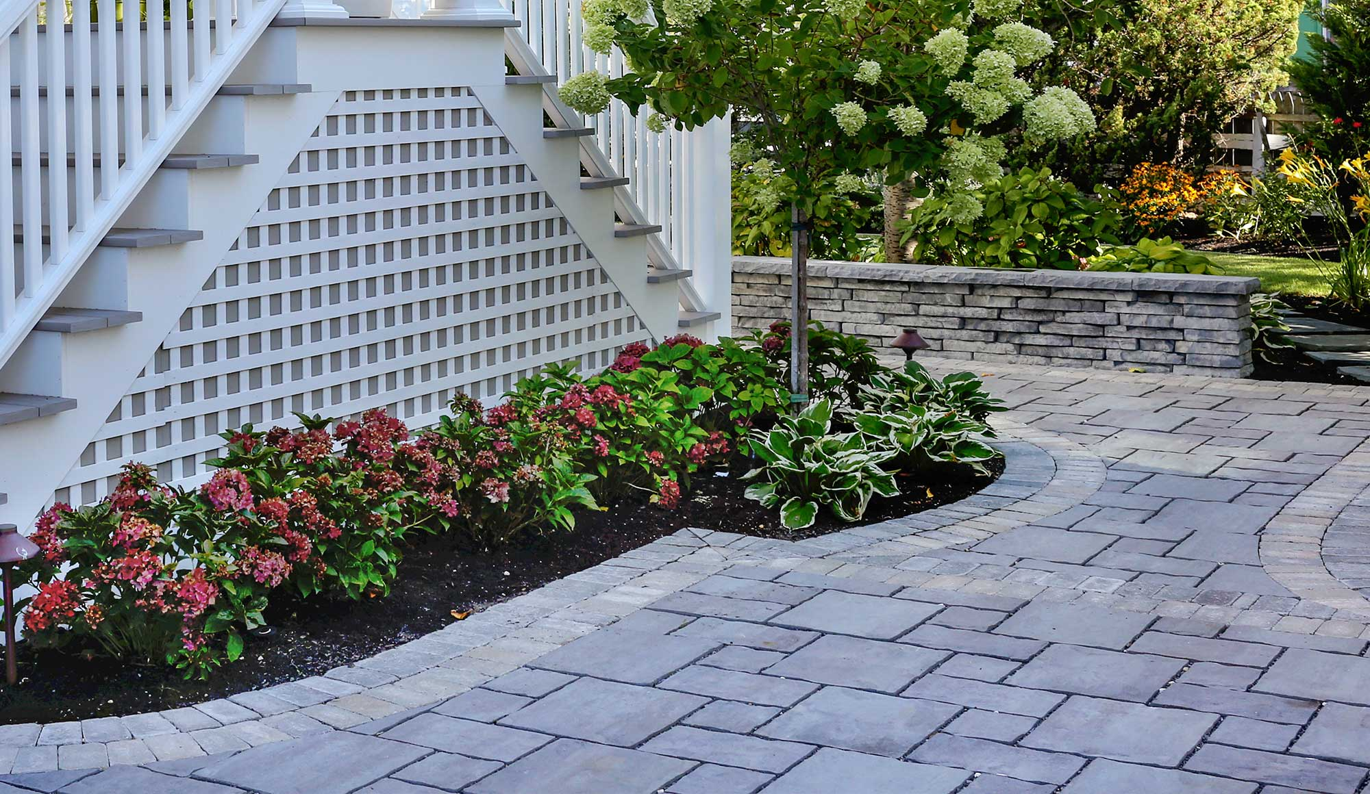 Hardscaping Design by Bay Ave