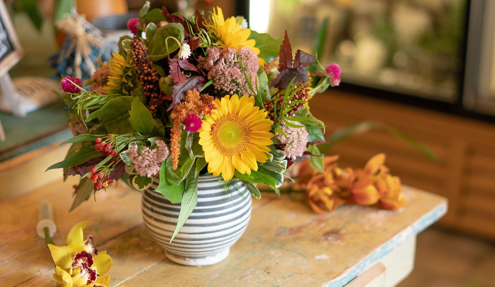 Floral Designs By Bay Ave Long Beach Island Florist Wedding