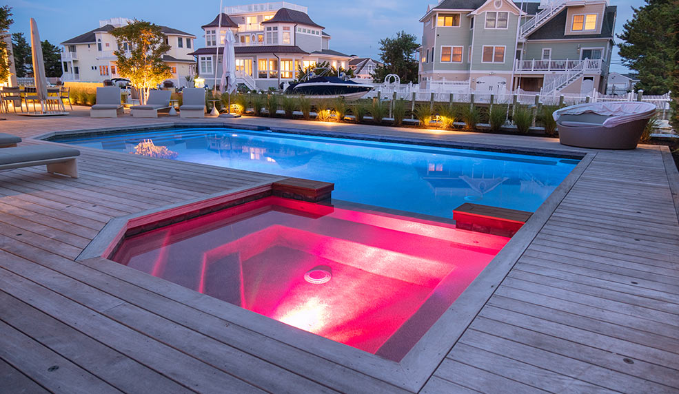 Professional pools spas design hot tubs fountains more for Pool design company polen